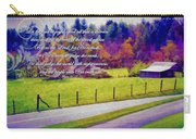 Psalm 96 12 13 Carry-all Pouch by Michelle Greene Wheeler