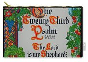 Psalms 23-1 Carry-all Pouch
