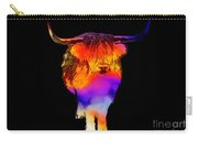 Psychedelic Bovine Carry-all Pouch
