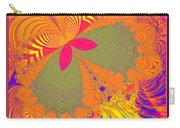 Psychedelic Butterfly Explosion Fractal 61 Carry-all Pouch