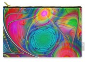 Psychedelic Colors Carry-all Pouch