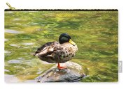 Psychedelic Duck  Carry-all Pouch