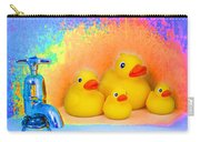 Psychedelic Ducks And Faucet Carry-all Pouch