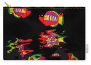 Psychedelic Flying Fish With Psychedelic Reflections Carry-all Pouch