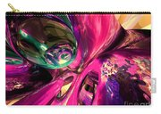 Psychedelic Fun House Abstract Carry-all Pouch