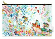 Psychedelic Goddess With Toads Carry-all Pouch