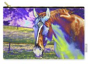 Psychedelic Horse Carry-all Pouch