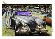 Psychedelic Jaguar Xk120 Classic Car 1 Carry-all Pouch