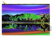 Psychedelic Lake Matheson Ner Zealand 3 Carry-all Pouch