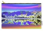 Psychedelic Lake Matheson New Zealand 2 Carry-all Pouch