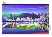 Psychedelic Lake Matheson New Zealand Carry-all Pouch