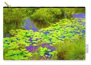 Psychedelic Lily Pads  Carry-all Pouch