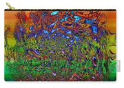 Psychedelic Mind Carry-all Pouch by Linda Sannuti