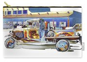 Psychedelic Old Pickup Truck Carry-all Pouch