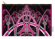 Psychedelic Rollercoaster Tunnel Fractal 65 Carry-all Pouch