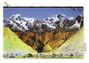 Psychedelic Southern Alps New Zealand Carry-all Pouch