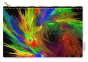 Psychedelic Spiral Vortex Fractal Flame Carry-all Pouch
