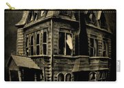 Psycho Mansion Carry-all Pouch by John Malone