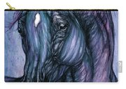 Psychodelic Deep Blue Carry-all Pouch