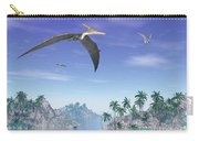 Pteranodon Birds Flying Above Islands Carry-all Pouch
