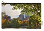 Public Garden Skyline Carry-all Pouch by Joann Vitali