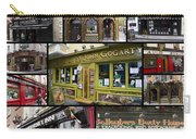 Pubs Of Dublin Carry-all Pouch by David Smith