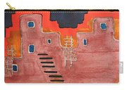 Pueblito Original Painting Carry-all Pouch
