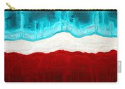 Pueblo Cemetery Original Painting Carry-all Pouch