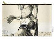 Pueblo Zuni Buffalo Dance, 1850s Carry-all Pouch