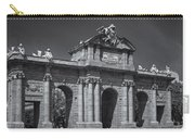 Puerta De Alcala Carry-all Pouch by Susan Candelario