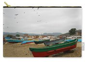 Puerto Lopez Beach And Boats Carry-all Pouch