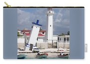 Puerto Morelos Lighthouse Carry-all Pouch