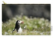 Puffin In Sea Campion Carry-all Pouch