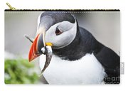 Puffin With Fish Carry-all Pouch