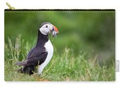 Puffin With Sandeels Carry-all Pouch