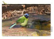 Puffy Green Jay Carry-all Pouch