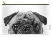 Pug Dog Square Format Carry-all Pouch