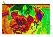 Pug Portrait Pop Art Carry-all Pouch