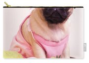 Pug Puppy Bath Time Carry-all Pouch