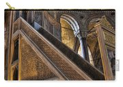 Pulpit In The Aya Sofia Museum In Istanbul  Carry-all Pouch by David Smith