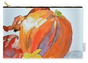 Pumpkin And Pomegranate Carry-all Pouch