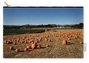 Pumpkin Field Carry-all Pouch