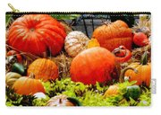 Pumpkin Harvest Carry-all Pouch by Karen Wiles