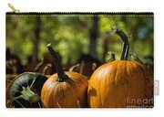 Pumpkin Line Up Carry-all Pouch