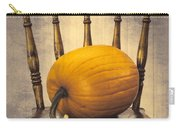 Pumpkin On Chair Carry-all Pouch