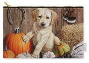 Pumpkin Puppy Carry-all Pouch