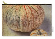 Pumpkin Textures Carry-all Pouch