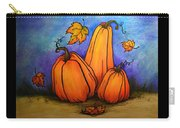 Pumpkin Trio Carry-all Pouch