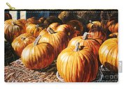 Pumpkins In The Barn Carry-all Pouch