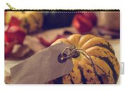 Pumpkins With Label Carry-all Pouch